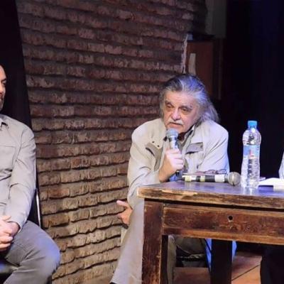 Presentación en el Archibrazo con Horacio González y Christian Ferrer, el 17/11/2017
