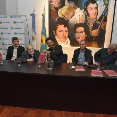 Presentación en la municipalidad de Ituzaingó 15/7/2017