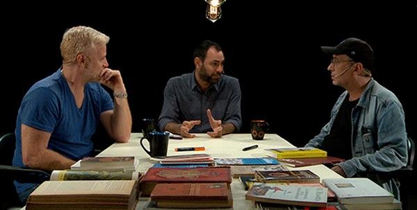 Rubén Mira y Ariel Pennisi, directores de 90 Intervenciones, conversan con Pedro Saborido en la serie web Pensando la cosa, de Canal Abierto