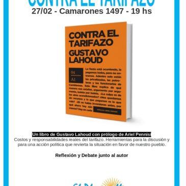 Contra el tarifazo, presentación en El Plumerillo